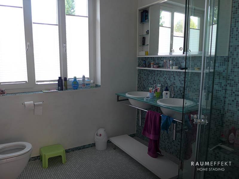 raumeffekt-Home-Staging-bewohnte-Immobilie-Badezimmer-vorher