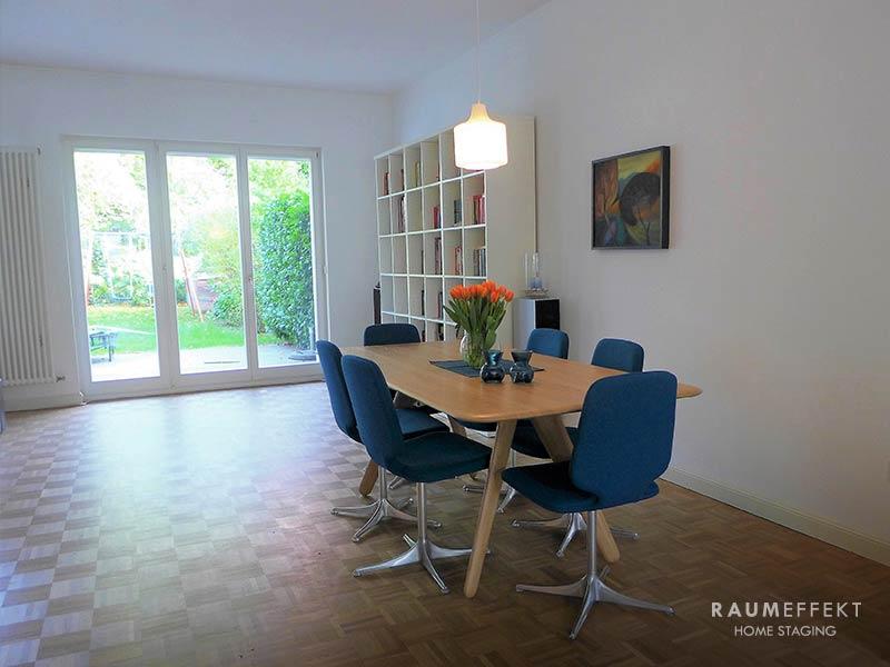raumeffekt-Home-Staging-bewohnte-Immobilie-Esszimmer-nachher