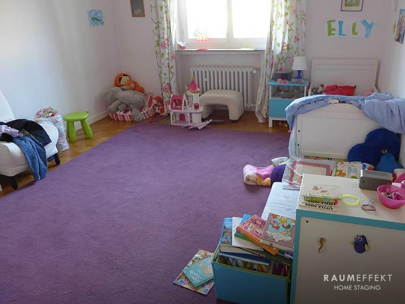 raumeffekt-Home-Staging-bewohnte-Immobilie-Kinderzimmer-vorher
