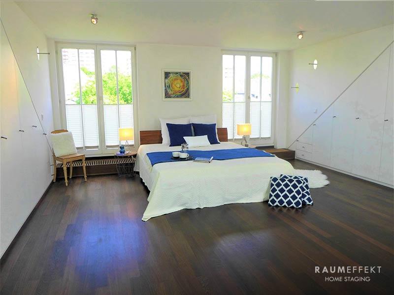 raumeffekt-Home-Staging-bewohnte-Immobilie-Schlafzimmer-nachher