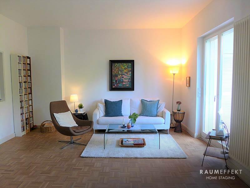 raumeffekt-Home-Staging-bewohnte-Immobilie-Wohnzimmer-nachher