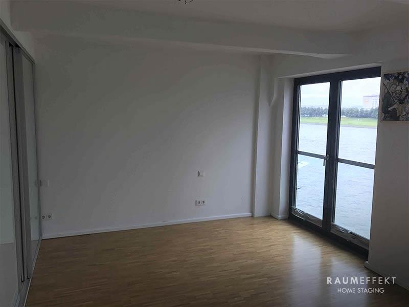 raumeffekt-Home-Staging-leerstehende-Immobilie-Schlafzimmer-vorher